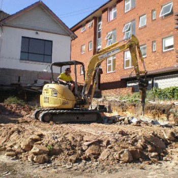 Fairlight driveway excavation
